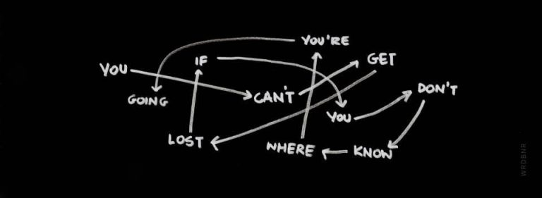 You can't get lost
